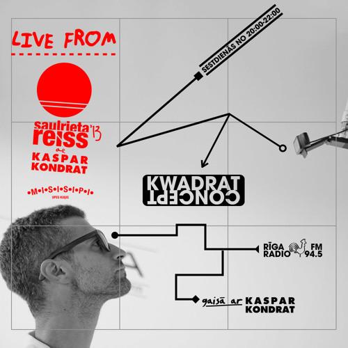 SAULRIETA REISS 2013 - Kaspar Kondrat + b2b2b w/ ARTIS and DFRNT