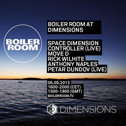 Move D 40 min Boiler Room x Dimensions mix