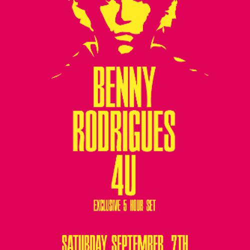 Benny Rodrigues 4U @ Toffler, Rotterdam (7-9-2013)