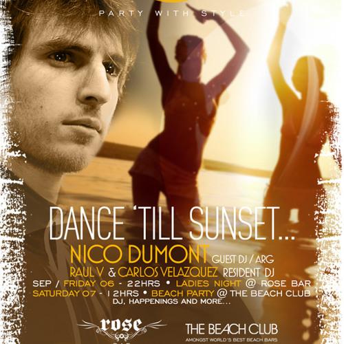 Nico Dumont @ ME > Cancun Sep 013