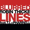 Robin Thicke ft. Pharrell ft. T.I. vs. Hardwell - Blurred Lines (Alexander Haine...