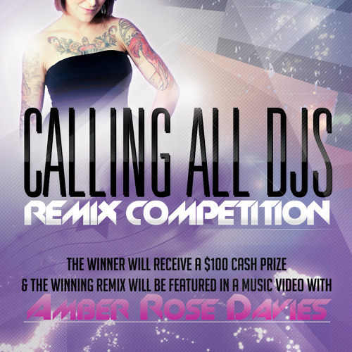 Amber Rose Davies 10,000 Suns Remix Competition