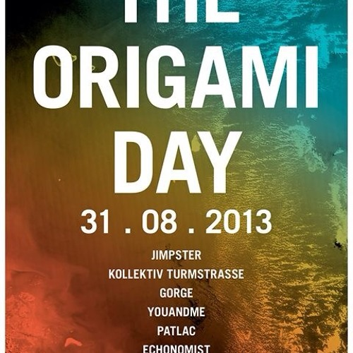 Echonomist @ The ORIGAMI Day 2013