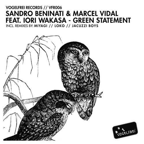 Sandro Beninati & Marcel Vidal feat. Iori Wakasa - Green Statement (Iori`s Raw City Beats)