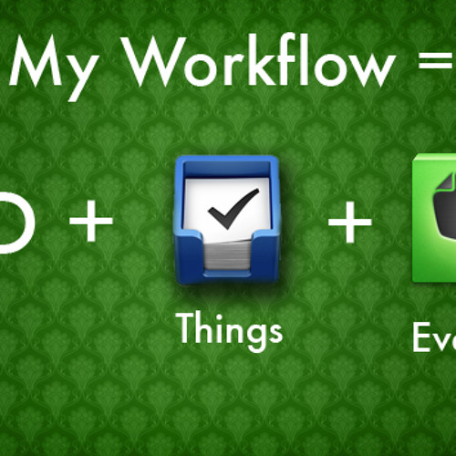 Episode 038: My Workflow with GTD, Things, and Evernote