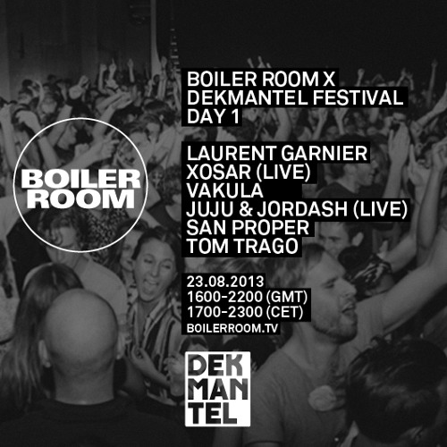 Laurent Garnier 55 min Boiler Room x Dekmantel mix