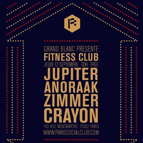 Introducing Fitness Club (Jupiter, Anoraak, Zimmer & Crayon) | Mixtape