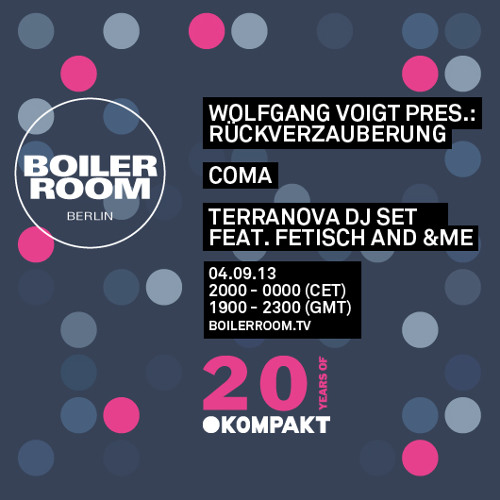 Terranova feat. Fetisch AND &Me 90 Min Boiler Room Berlin Mix