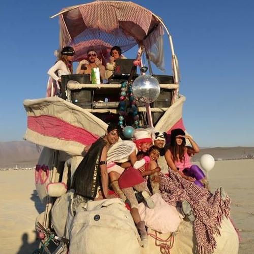 Burning Man 2013 Pink Love Bunny Sunrise Set Part 1