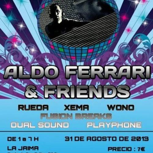 Fusion Break @ Aldo Ferrari and Friends @ Club La Jaima (Cadiz) 31-08-13