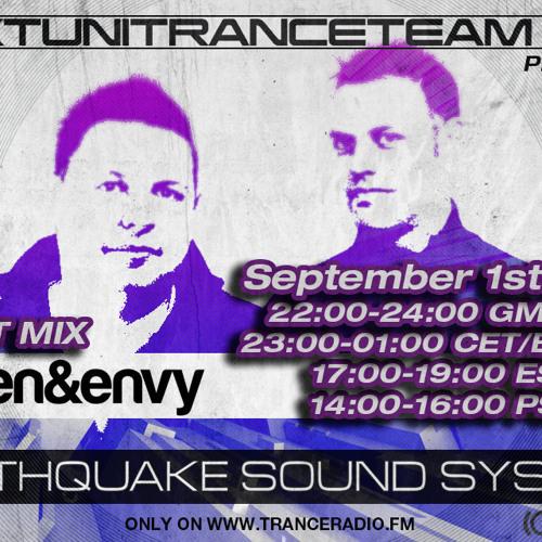 UkTuniTranceTeam140+ Pres. Earthquake Sound System 034 (Allen & Envy Guestmix)