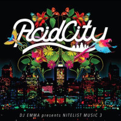 """ACID CITY """"NITELIST MUSIC 3"""""""