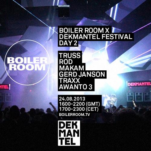 Cinnaman 60 min Boiler Room x Dekmantel Festival mix