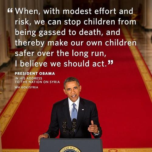 President Obama Addresses The Nation On Syria (Sept 10, 2013)