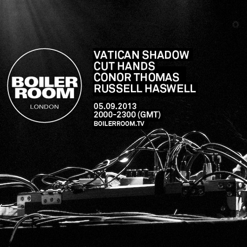 Russell Haswell LIVE in the Boiler Room