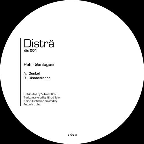 Pehr Genlogue - B1. Disobedience / mastered by Nihad Tule (Disträ Recordings 001)