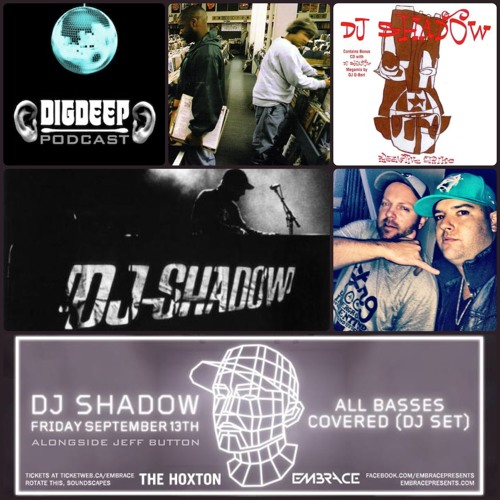 Friday September 13th | The Hoxton w/ DJ SHADOW