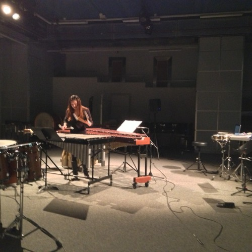 Alchimie for vibraphone and marimba with electronics (2011, performed in 2013)