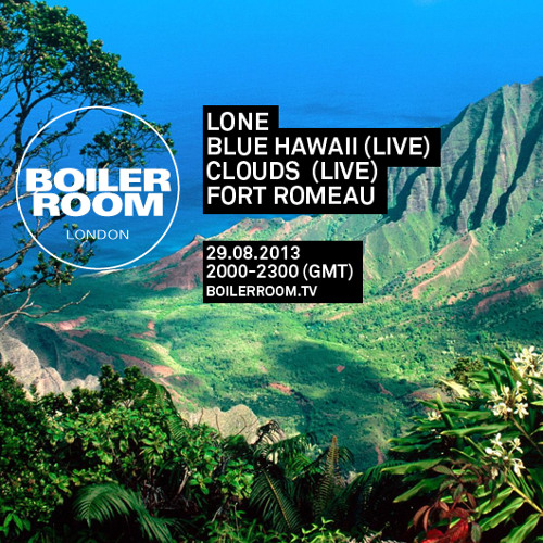 Blue Hawaii LIVE in the Boiler Room