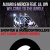 Alvaro - Welcome To The Jungle VS Showtek - Get Loose (Tiesto Remix)  DJ Night-Star mash up
