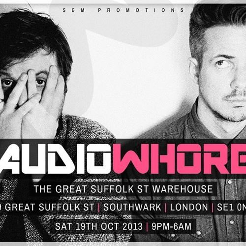AudioWhore Sat 19th Oct - DJ Majesty