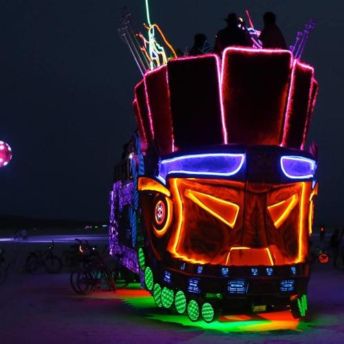 Jason Kendig live on the Mayan Warrior - Burning Man 2013