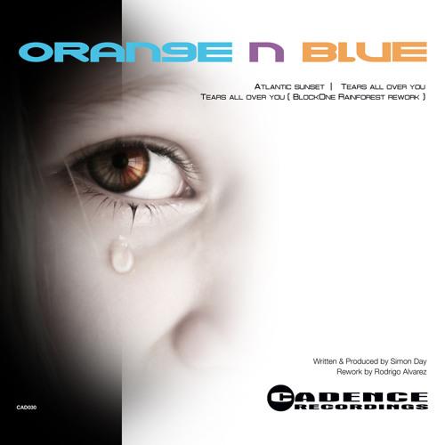 Orange n Blue > Tears All Over You > Clip CAD030