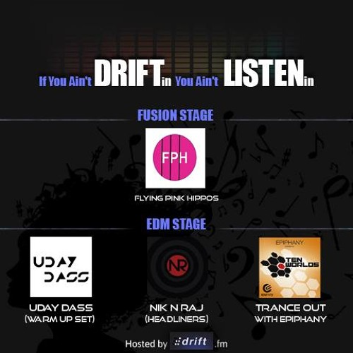 Uday Dass - Drift.fm Chill Out Sessions Promo Mix