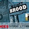 ELLIOTT BROOD PLUS DELEO DANCE PARTY SEPT 14/13 AT CROCKS ROCK94 RADIO SPOT