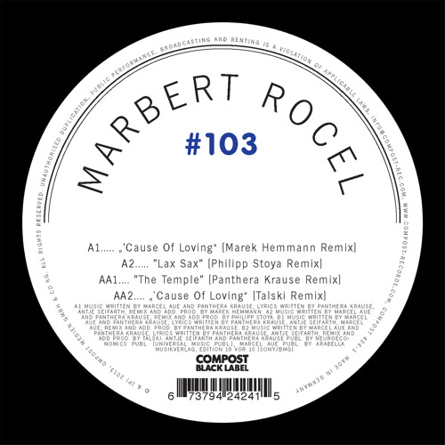 Marbert Rocel - The Temple (Panthera Krause Remix)