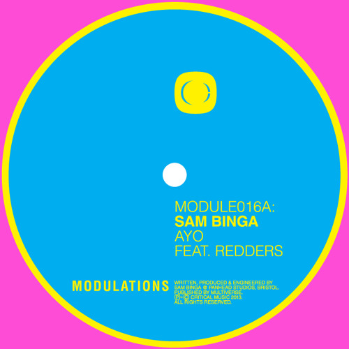 Sam Binga - AYO ft. Redders [MODULE016]