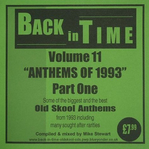 Mike Stewart - Back In Time Vol 11 (Anthems Of 1993 Part 1)