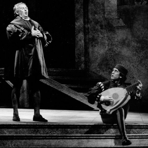 JULIAN PATRICK at Seattle Opera: Beckmesser, 1989
