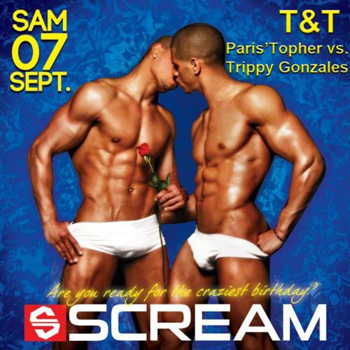 T&T (Paris'Topher vs Trippy Gonzales) Live @ Scream Birthday 07-09-2013