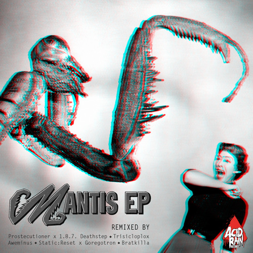 FaceSplit - The Mantis [Prostecutioner ✖ 1.8.7. Deathstep Remix] [Clip] [Out Now On  Beatport]
