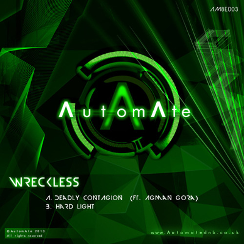 Wreckless ft Agman Gora - Deadly Contagion - AM8E003 - Out Now!