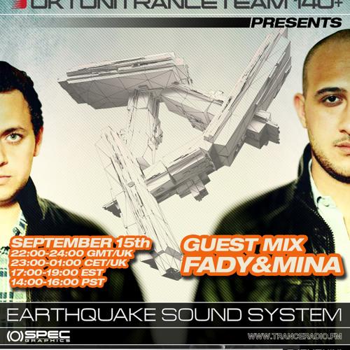 UkTuniTranceTeam140+ Pres. Earthquake Sound System 036 (Fady & Mina Guestmix)