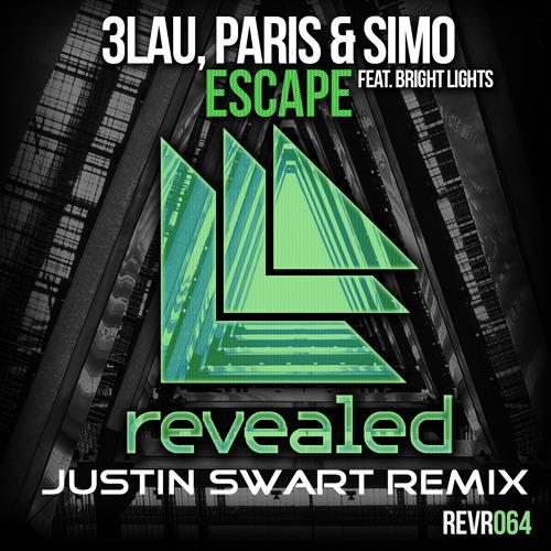 3LAU, Paris & Simo Feat. Bright Lights - Escape (Justin Swart Remix)