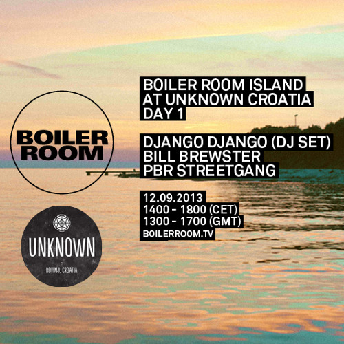 PBR Streetgang 55 min Boiler Room x Unknown Festival mix