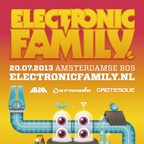 Cosmic Gate - Live @ Electronic Family 2013 (Amsterdam, NL) 20-07-2013