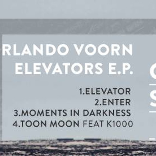 Orlando Voorn - Elevators EP-Murge Recordings.