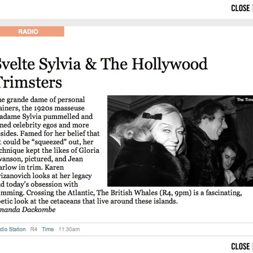 Svelte Sylvia And The Hollywood Trimsters