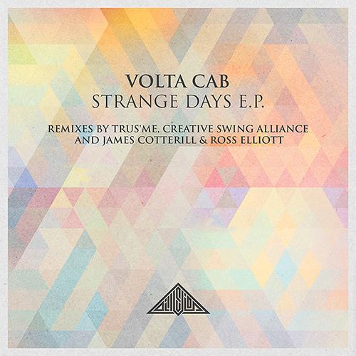 ILL006 - VOLTA CAB - STRANGE DAYS E.P. REMIXES BY TRUS'ME, C.S.A, JAMES COTTERILL & ROSS ELLIOTT