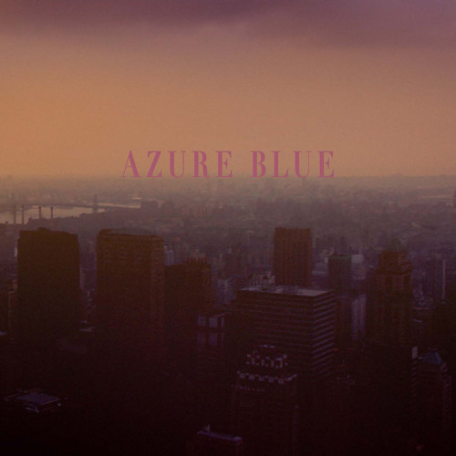 Azure Blue - Willows and Pines