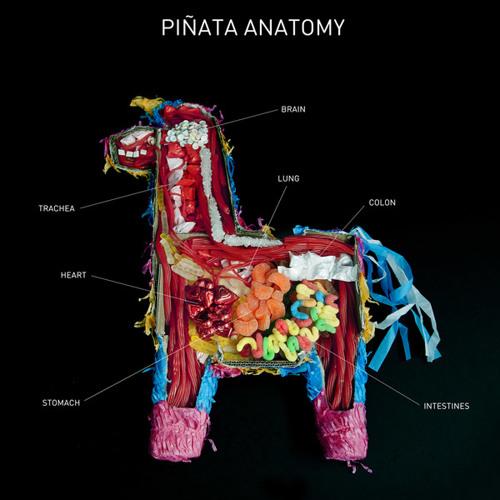 Burning man 2013 - sounds for a piñata anatomy