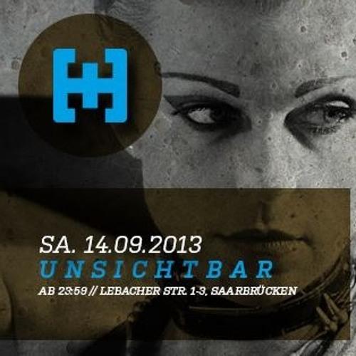Jan Fleck @ Unsichtbar Saarbrücken 14.09.2013 (Technoset)