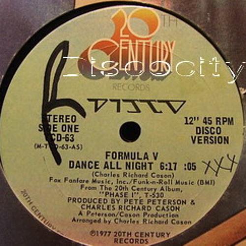 Formula V - --Dance All Night - --RobO Reconstructed Get Up & Dance Re - Edit