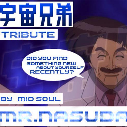 "Mr. Nasuda -( Half n Half #41)- anime "" Space Brothers - Uchuu Kyoudai "" tribute"