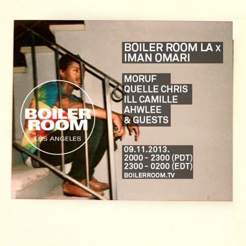 Ahwlee 20 min Boiler Room Los Angeles Mix
