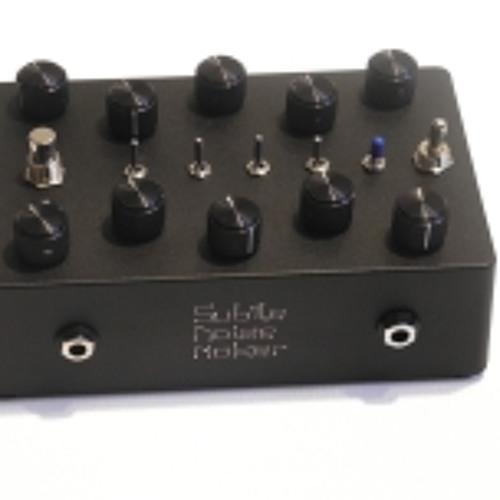 Subtle Noise Cacophonater Noir Sound demo